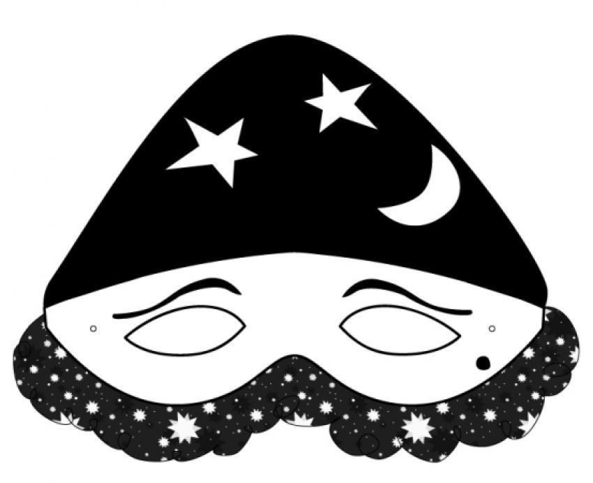 máscara-de-arlequín