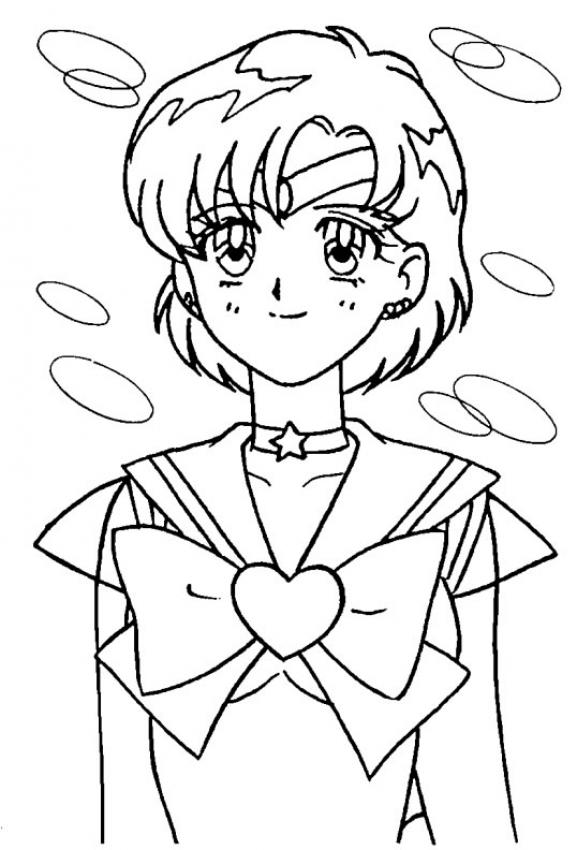 Dibujos Para Colorear Sailor Moon Retrato Eshellokidscom
