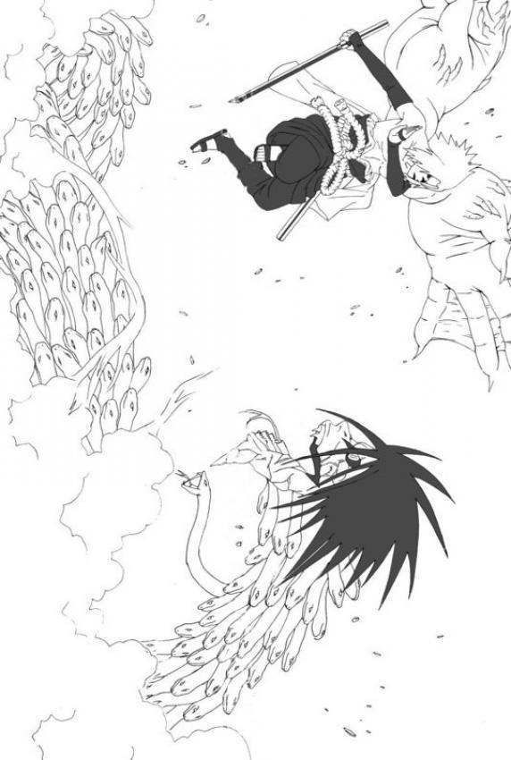Dibujos para colorear NARUTO - 11 dibujos manga para colorear y ...