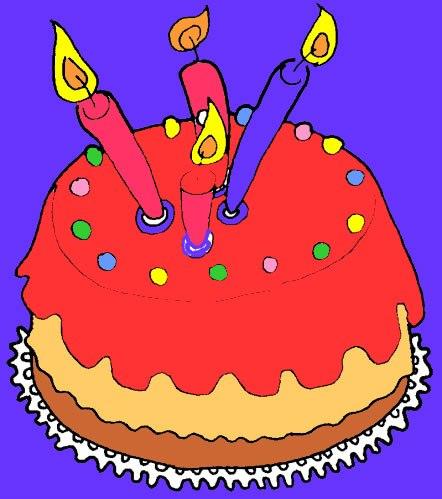 Pastel de cumpleaños - Postres