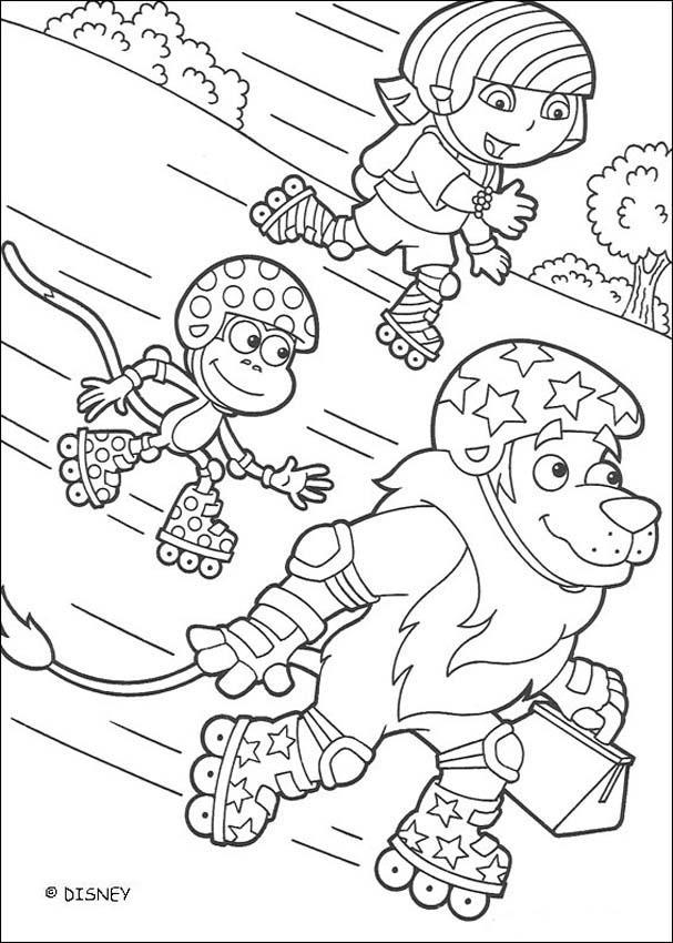 Dora la Exploradora : Dibujos para Colorear, Lecturas Infantiles ...