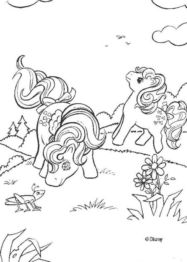 Mi pequeño Pony para colorear - 26 dibujos gratis para imprimir y pintar