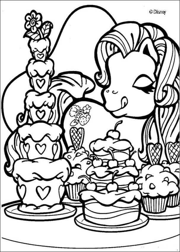 Dibujos para colorear fresita - es.hellokids.com