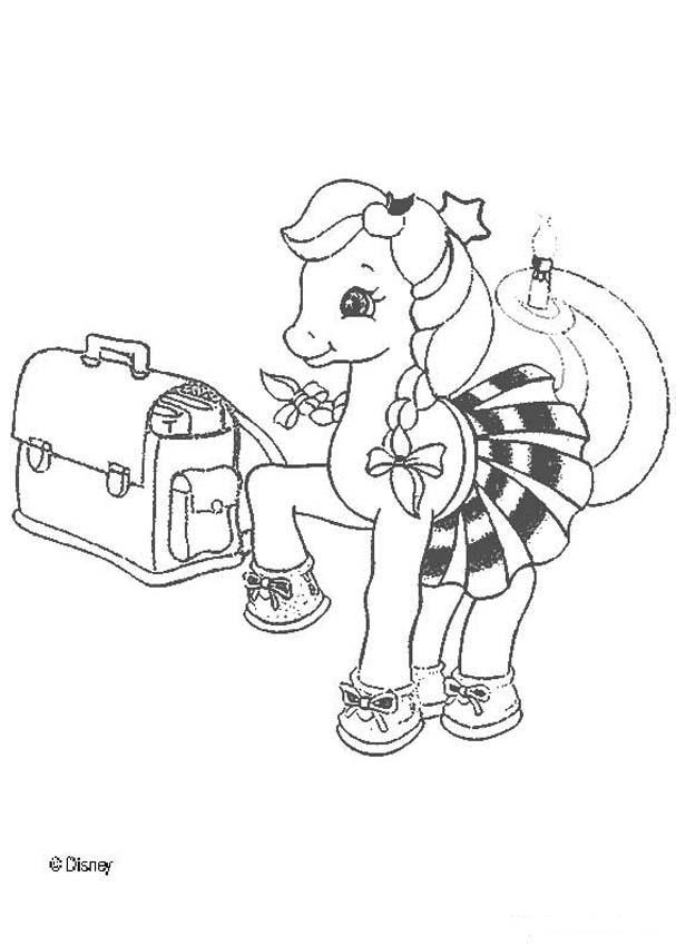 Dibujos para colorear princesa cadance - es.hellokids.com