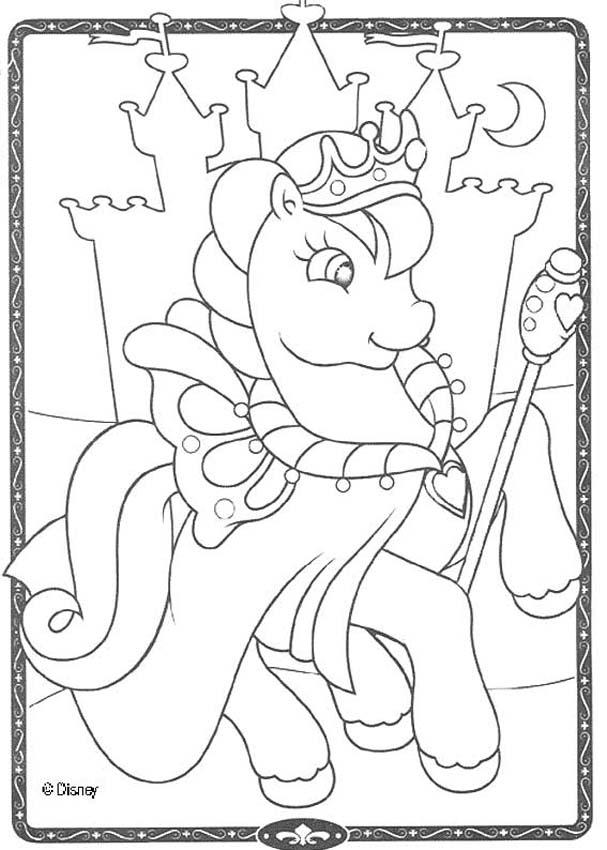 Dibujos para colorear princesa cadance  eshellokidscom
