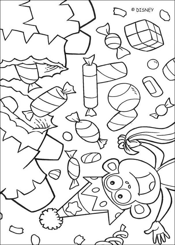 Dibujos Para Colorear Dulces Es Hellokids Com