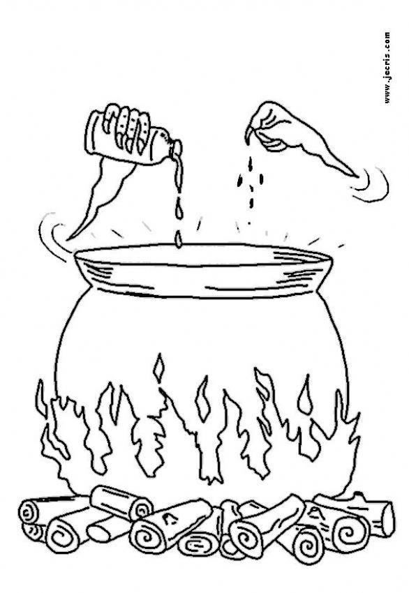 Dibujos para colorear la pcima mgica  eshellokidscom