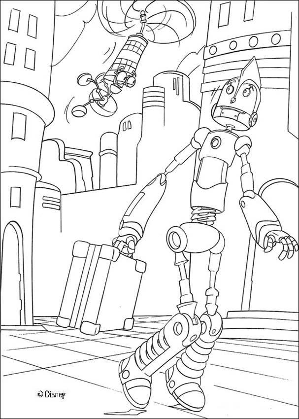 Dibujos para colorear rodney con su invencin  eshellokidscom