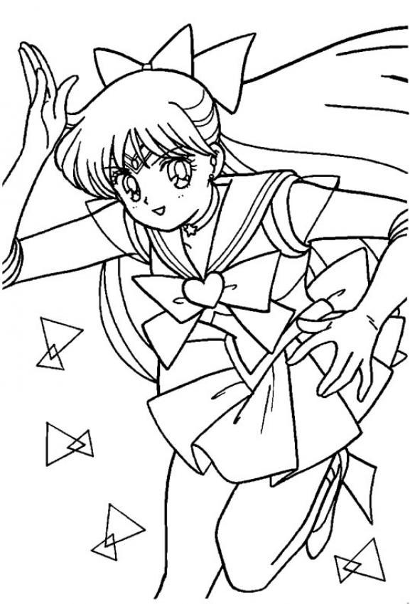 Excepcional Lindo Gato De Anime Para Colorear Inspiración - Dibujos ...
