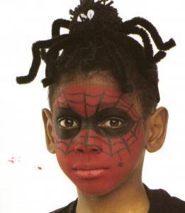 Spiderman - Actividades - Fabricar con tus manos - Manualidades para cada fiesta del año - Fabricar materiales para Halloween - Maquillajes de Halloween
