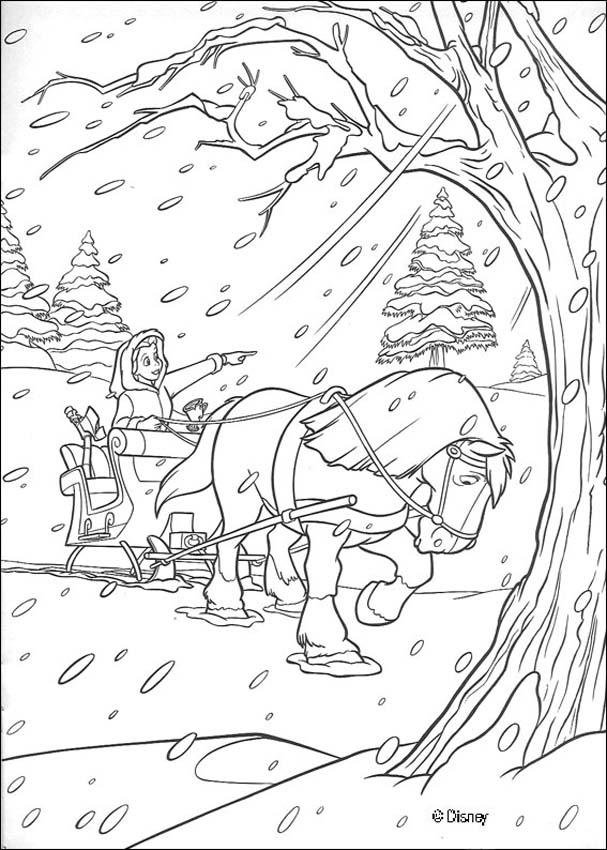Dibujos LA BELLA Y LA BESTIA para colorear Disney - 18 imágenes de ...