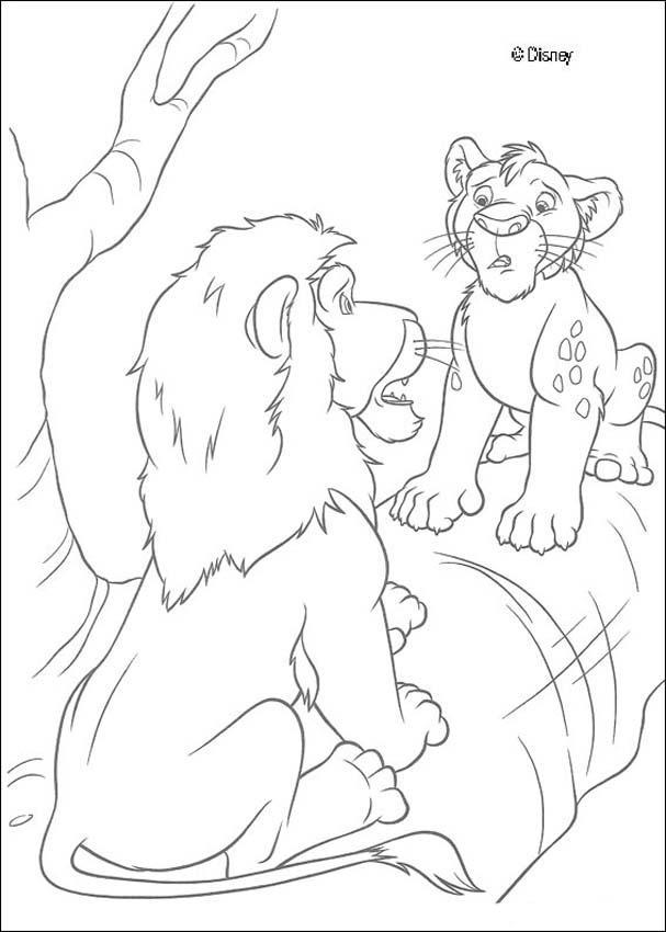 Dibujo para colorear : Ryan y Samson