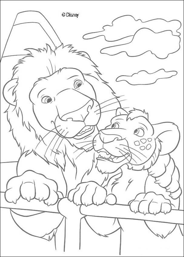 Zoológico : Dibujos para Colorear, Manualidades para niños, Videos y ...
