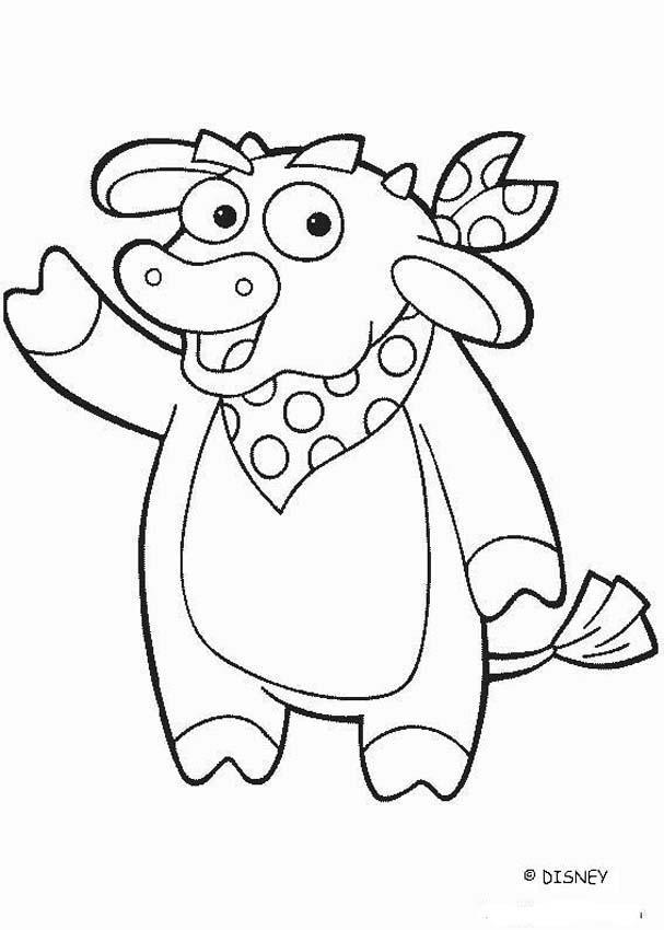 Colorear toro