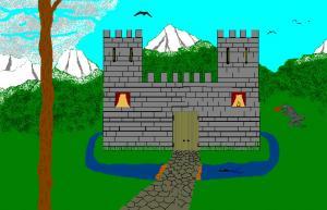 un-château-fort