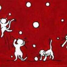 Cuatro gatitos - Dibujar Dibujos - Imagenes para niños - Imagenes ANIMALES