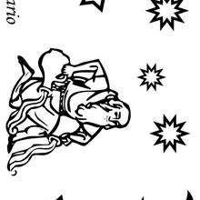 Acuario - Dibujos para Colorear y Pintar - Dibujos infantiles para colorear - Signos del Zodiaco para colorear