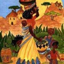 Africana - Dibujar Dibujos - IMAGENES infantiles - Imagenes infantiles para ver e imprimir - Otros