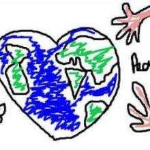 Johanne - Dibujar Dibujos - Dibujos de NIÑOS - Dibujo de los niños POR LA PAZ
