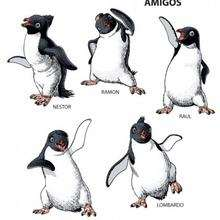 Amigos - Dibujos para Colorear y Pintar - Dibujos de PELICULAS colorear - Dibujos para colorear HAPPY FEET PELICULA - Dibujos para colorear PINGUINOS HAPPY FEET