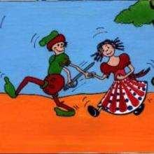 Enamorados - Dibujar Dibujos - IMAGENES infantiles - Imagenes infantiles para ver e imprimir - Reyes y príncipes