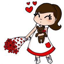 Ilustración : Ramo de Amor