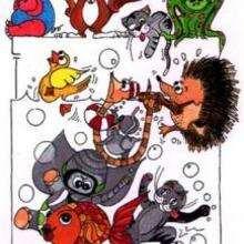 Fiesta de animales - Dibujar Dibujos - Imagenes para niños - Imagenes ANIMALES