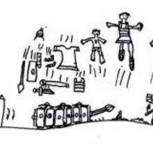Ilustración : Los soldados