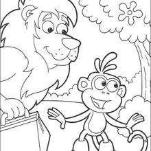 Botas y el león