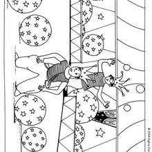 Dibujo malabarista - Dibujos para Colorear y Pintar - Dibujos infantiles para colorear - Circo para colorear