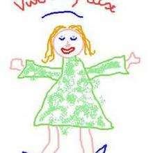 Belinda - Dibujar Dibujos - Dibujos de NIÑOS - Dibujo de los niños POR LA PAZ