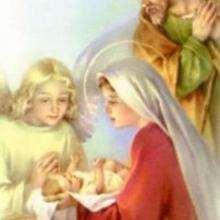 Ilustración : Nacimiento del niño Jesús