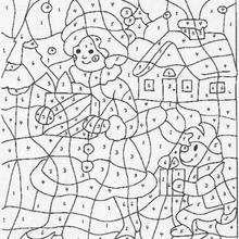 Juego de colorear REGALOS - Juegos divertidos - Juegos para IMPRIMIR - Juegos de PINTAR - Juegos de pintar PARA NIÑOS