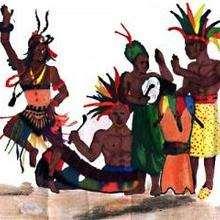 Ilustración : Baile de Camerún