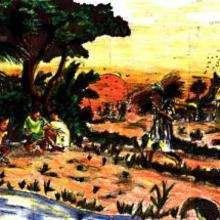 Paísaje de Camerún - Dibujar Dibujos - Imagenes para niños - Imagenes del MUNDO - En África