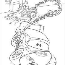 Lego Duplo Cars 3 Tow Mater Coloring Page For Boys Get Coloring