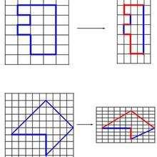 Juego de geometria LETRA - Juegos divertidos - Juegos para IMPRIMIR - Juegos de OBSERVACION - Juegos de GEOMETRIA