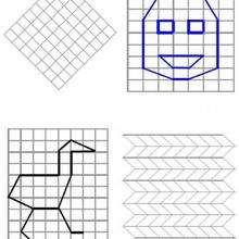 Ilustración : Juego de geometria PATO