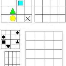 Juego de geometria COLORES