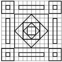Juego de geometria MOSAICA - Juegos divertidos - Juegos para IMPRIMIR - Juegos de OBSERVACION - Juegos de GEOMETRIA