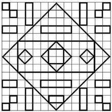 Juego de geometria FORMAS - Juegos divertidos - Juegos para IMPRIMIR - Juegos de OBSERVACION - Juegos de GEOMETRIA