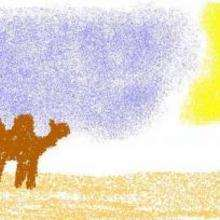 Camello - Dibujar Dibujos - Dibujos para COPIAR - Otros