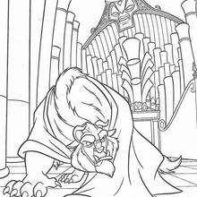 Dibujo para colorear : El órgano y la Bestia