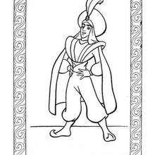 Dibujo para colorear : El príncipe Ali