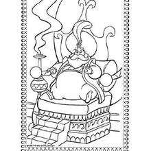 Dibujo para colorear : El Sultán