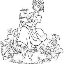 Dibujo para colorear : Jane Porter