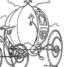 Dibujo para colorear : La carroza