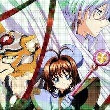 Dibujo Sakura 18 - Dibujar Dibujos - Dibujos MANGA - Sakura cazadora de cartas (Card Captors)