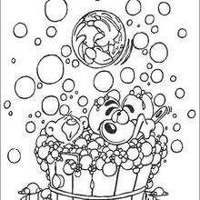 Diddl 16 - Dibujos para Colorear y Pintar - Dibujos para colorear PERSONAJES - PERSONAJES ANIME para colorear - Diddl el ratón para pintar