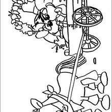 Diddl 3 - Dibujos para Colorear y Pintar - Dibujos para colorear PERSONAJES - PERSONAJES ANIME para colorear - Diddl el ratón para pintar